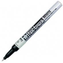 , Viltstift Sakura pen-touch EF wit 1-2mm