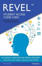 James, Missy Revel for Reading Literature and Writing Argument -- Access Card