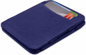 Hu-mw-cs1- blau , Hunterson magic wallet rfid blauw