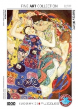 Eur-6000-3693 , Puzzel eurographics the virgin gustav klimt 1000 stukjes 48x68cm