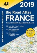 AA Big Road Atlas France 2019