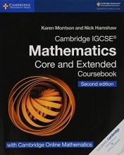 Morrison, Karen Hamshaw,   Hamshaw, Nick Cambridge IGCSE Mathematics Coursebook Core and Extended Second Edition with Cambridge Online Mathematics (2 Years)