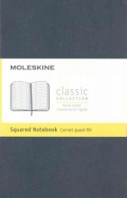 Moleskine Classic Notebook, Pocket, Squared, Sapphire Blue