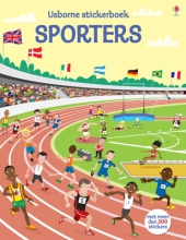 Usborne Stickerboek Stickerboek - Sporters