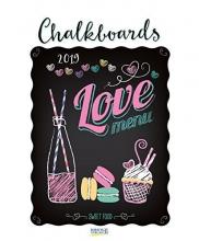 Chalkboards 2019  Typo Art Kalender