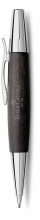 , vulpotlood Faber-Castell E-motion chroom zwart perenhout