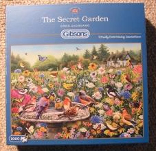 Gib-g6183 , Puzzel  gibsons the secret garden - 1000 - (68 x 49)