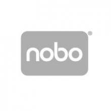 , Viltstift Nobo whiteboard Glide rond ass 3mm blister à 4st