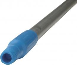 , Steel Vikan ergonomic 150cm 31mm blauw aluminium