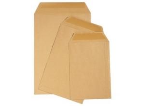 , Envelop Quantore loonzak 65x105 70gr bruin 1000stuks