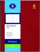 Agenda 2020 7d/2p rood weekplan