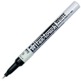,Viltstift Sakura pen-touch EF wit 1-2mm