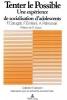 Carugati, Felice, Tenter Le Possible: Une Experience de Socialisation D`Adolescents En Milieu Communautaire