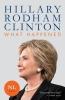 Hillary Rodham  Clinton, What Happened - Nederlandstalige editie