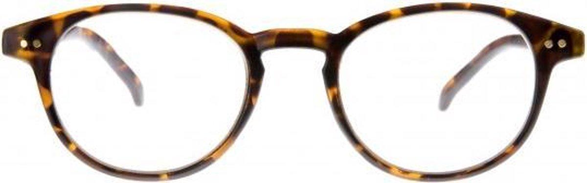 Tcd003,Leesbril icon matt demi, clear lens +3,00