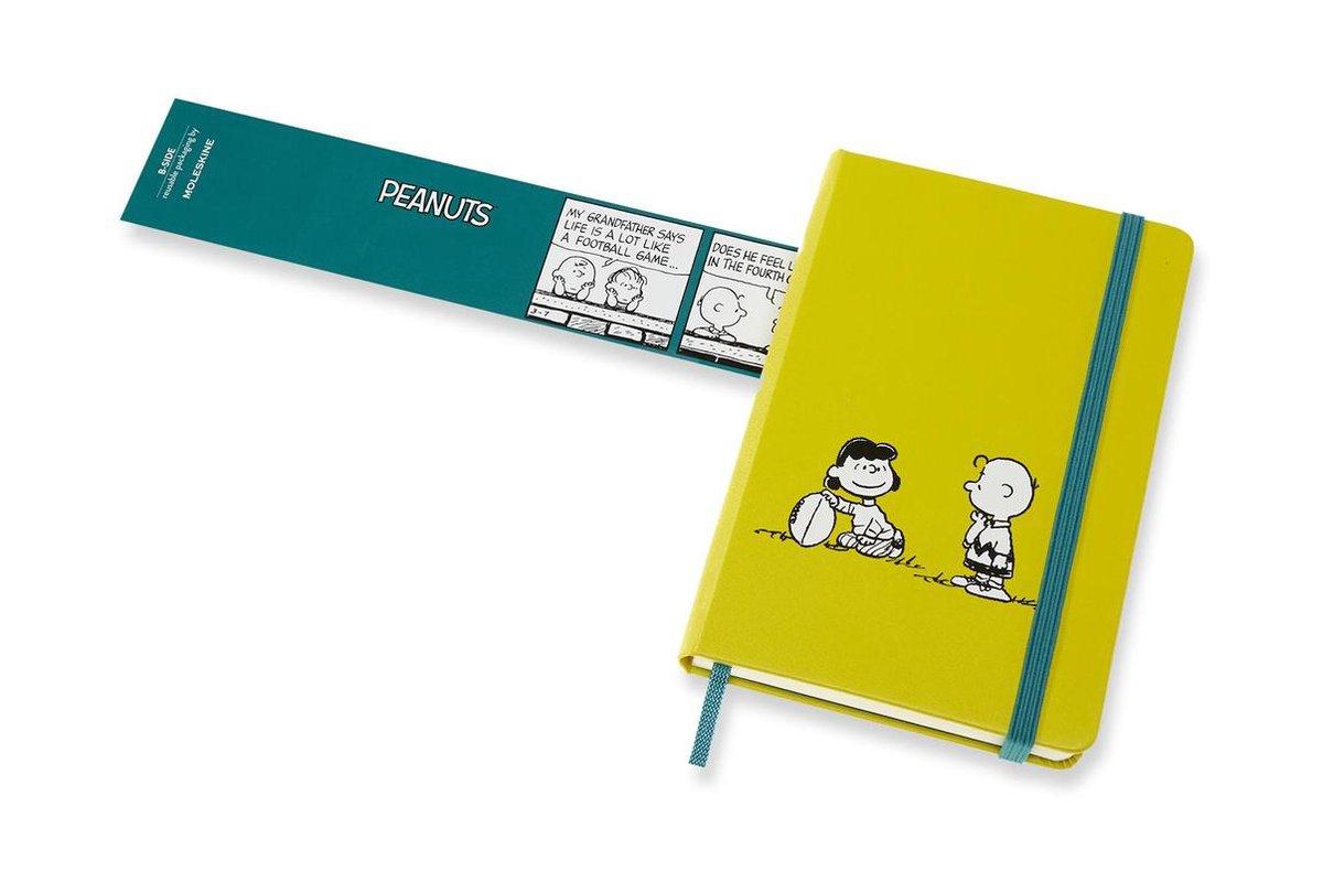 ,Moleskine 18 MND Agenda - 2020/21 - LE Planner - Peanuts - Wekelijks - Pocket (9x14 cm) - Ball - Harde Kaft