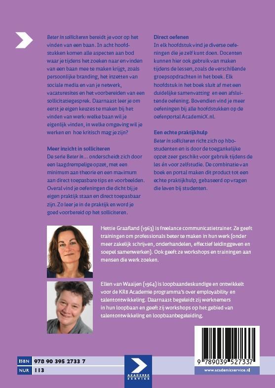 Hettie Graafland, Ellen van Waaijen,Beter in solliciteren