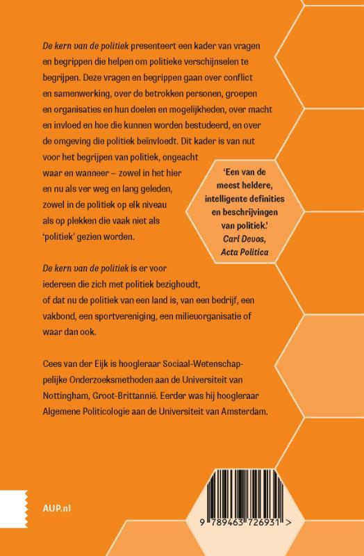 Cees van der Eijk,De kern van de politiek