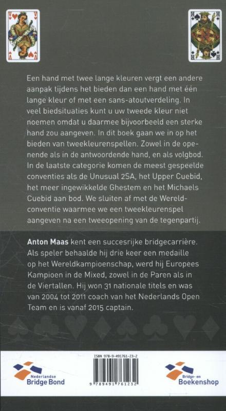 Anton Maas,Tweekleurenspellen