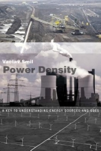Vaclav (Distinguished Professor Emeritus, University of Manitoba) Smil Power Density