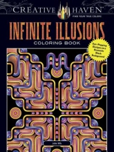 John Wik Creative Haven Infinite Illusions Coloring Book
