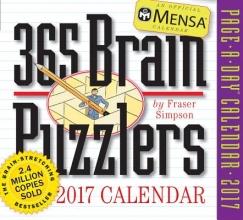 365 Brain Puzzlers 2017 Calendar
