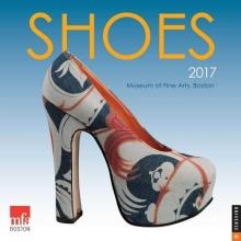 Museum of Fine Arts Boston Shoes 2017 Wall Calendar