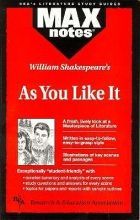Morrison, Michael As You Like It (Maxnotes Literature Guides)