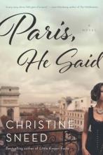 Sneed, Christine Paris, He Said