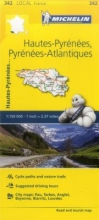 Hautes-Pyrenees, Pyrenees-Atlantiques - Michelin Local Map 3
