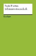 Plachta, Bodo Editionswissenschaft