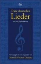 Fischer-Dieskau, Dietrich Texte deutscher Lieder