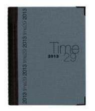 Time 29 2018 mit Spirale 2 Farben sortiert Tisch-Kalender