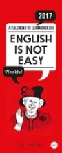 Gutierrez, Luci English is not easy 2017 Wochenplaner