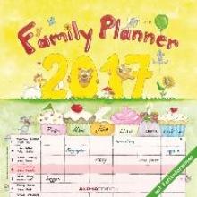 Familienplaner 2017 Broschürenkalender