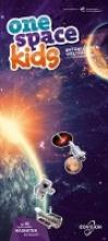 Eisl, Markus one space kids Weltall Spielatlas - Astronauten, Satelliten, Planeten