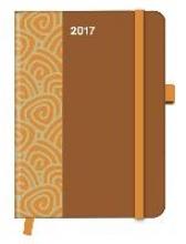 Cool Diary PATTERN Saddle Brown 2017 16x22