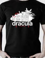 Dracula White Medium T-shirt