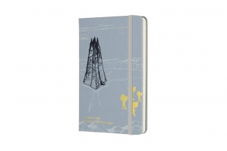 , Moleskine LE Notitieboek Lord Of The Rings Pocket (9x14 cm) Gelinieerd Isengard