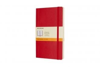 , Notitieboek Moleskine L 130x210mm lijn scarlet red