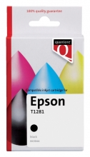 , Inktcartridge Quantore Epson T128140 zwart