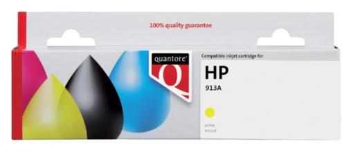 , Inktcartridge Quantore HP F6T79AE 913A geel
