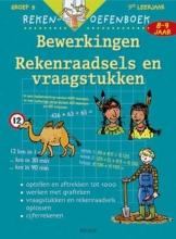 Karin  Bastin Rekenoefenboek: Rekenraadsels en Vraagstukken 8-9 jr