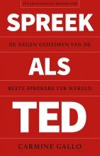 Carmine Gallo , Spreek als TED