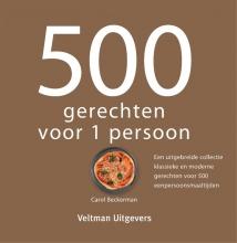 Carol Beckerman , 500 gerechten voor 1 persoon