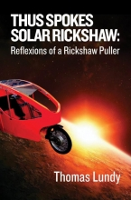 Thomas Lundy , Thus Spokes Solar Rickshaw
