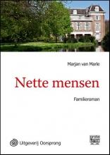 Marjan van Marle Nette mensen - grote letter uitgave