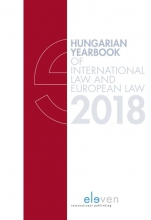 , Hungarian Yearbook of International and European Law 2018