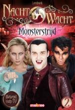 Gert  Verhulst, Hans  Bourlon, Anja Van Mensel Nachtwacht : leesboek 2 - Monsterstrijd