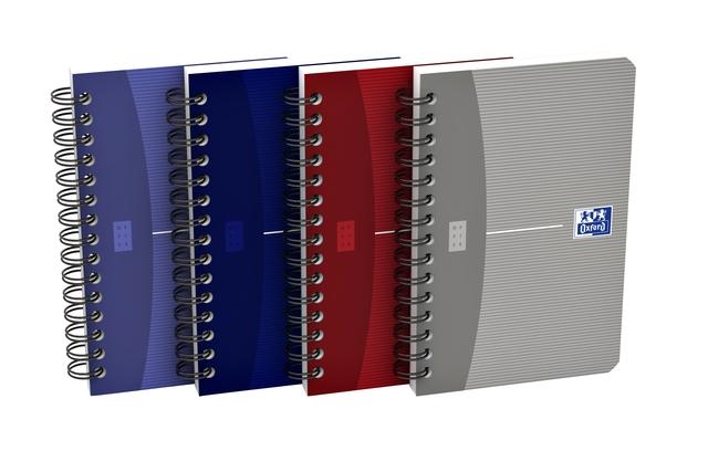 ,Spiraalblok Oxford Essentials 90x140mm 90vel gelinieerd